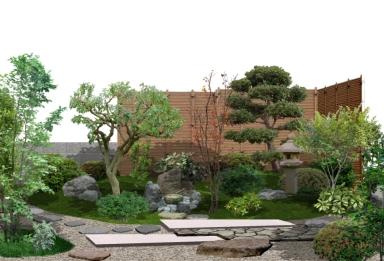 After カタリノによる造園/和庭作図 / / /
